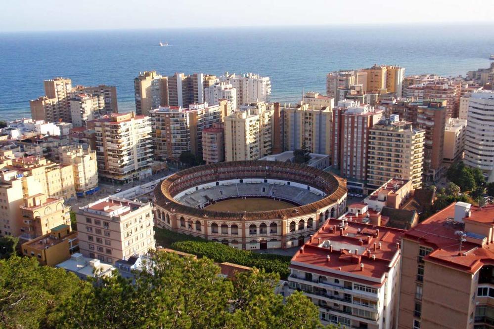 Skyline of Malaga